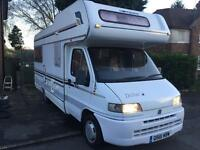 For sale: Lovely 4/5 berth Motorhome Drifter compass Fiat Ducato 2.5 turbo diesel