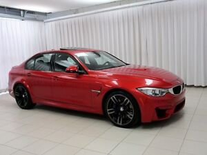 2015 BMW M3 7SPEED M-DCT w/ M ADAPTIVE SUSPENSION, NAV & MOONR