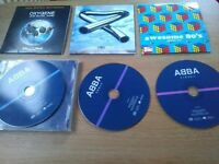 Various CDs for sale