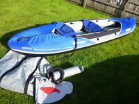 Sevylor Hudson inflatable canoe