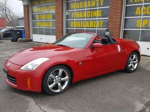 2007 Nissan 350Z Black Conv.Top/manual trans.