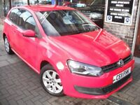 VOLKSWAGEN POLO 1.2 SE 3dr (red) 2011