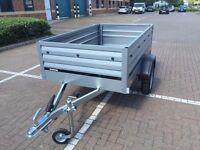 car box trailer camping THULE Brenderup 1205XL