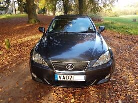 Lexus is 250 , auto, graphite grey, black leather, low mileage fsh.