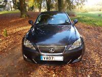 Lexus is 250 , auto, graphite grey, black leather, low mileage fsh.