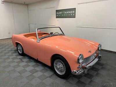 1963 Austin Healey Sprite SPRITE MK2. 4-SPEED. WIRE WHEELS. HOT 1275cc ENGINE. 1963 AUSTIN HEALEY SPRITE MK2. 1275cc ENGINE. EXQUISITE GROUND-UP RESTORATION.