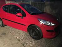 2007 57 Peugeot 207 1.4s Petrol Mot end of January 2018 bargain drive away today