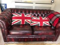 Chesterfield Sofa from Chesterfield Direct Cambridge 2Sts Oxblood