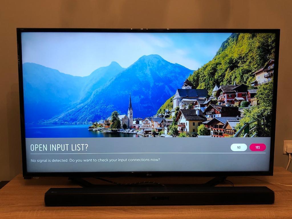 "LG 49"" 4K TV"