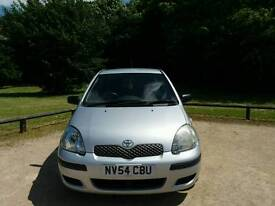 TOYOTA YARIS T3 2004 5DOOR 1LADY OWNER 12SERVICES MOT TILL 06/04/2018 95000 WARRANTED MILES