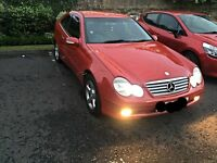Mercedes C Class Kompressor brilliant condition- BMW/Audi/Vauxhall/Ford/Seat