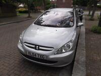any parts go 307SW pueguet 7 seater estate petrol auto MOT Tax 5 door serviced roof rack VGC DVD