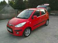 09 Hyundai i10 5 door Road Tax only£30 low ins ( most cards accepted for payment)