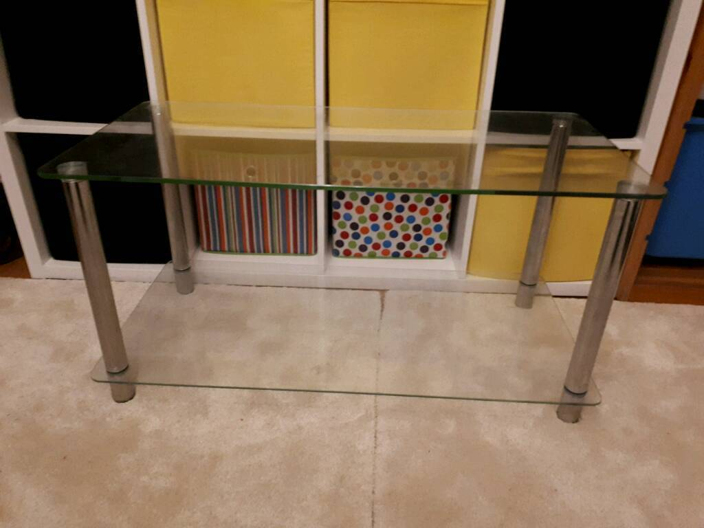 Glass Coffee/TV table