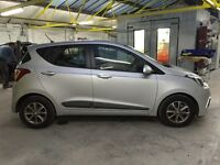 2014 HYUNDAI I10 PREMIUM 998cc, 3 THOUSAND MILES ONLY, NEW SHAPE, NEARLY NEW, FULLY LOADED