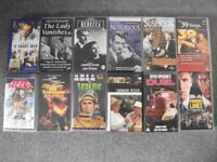 12 FEATURE FILM VHS VIDEOS