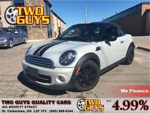 2012 MINI Cooper SPECIAL APPEARANCE PACKAGE LEATHER