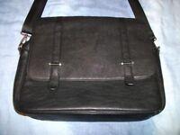 Zara - Black Man Bag (Faux Leather)