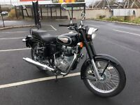 2016 Royal Enfield Bullet 500 EFI Only 172 Miles Finance Available Davy's Bikes