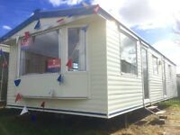 Cheap 2 bed FREE 2017 site fees static caravan clacton essex suffolk kent sussex norfolk london
