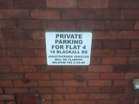 Parking space in central Exeter
