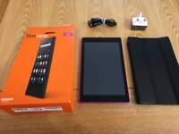 Kindle Fire HD 8 6th edition 16gb in purple
