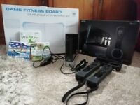 NINTENDO WII+WEE GO FIT BOARD +GAMES £50 IN GREAT CONDITION!
