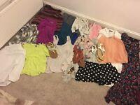 Bundle of clothing, 25 plus items size 8/10