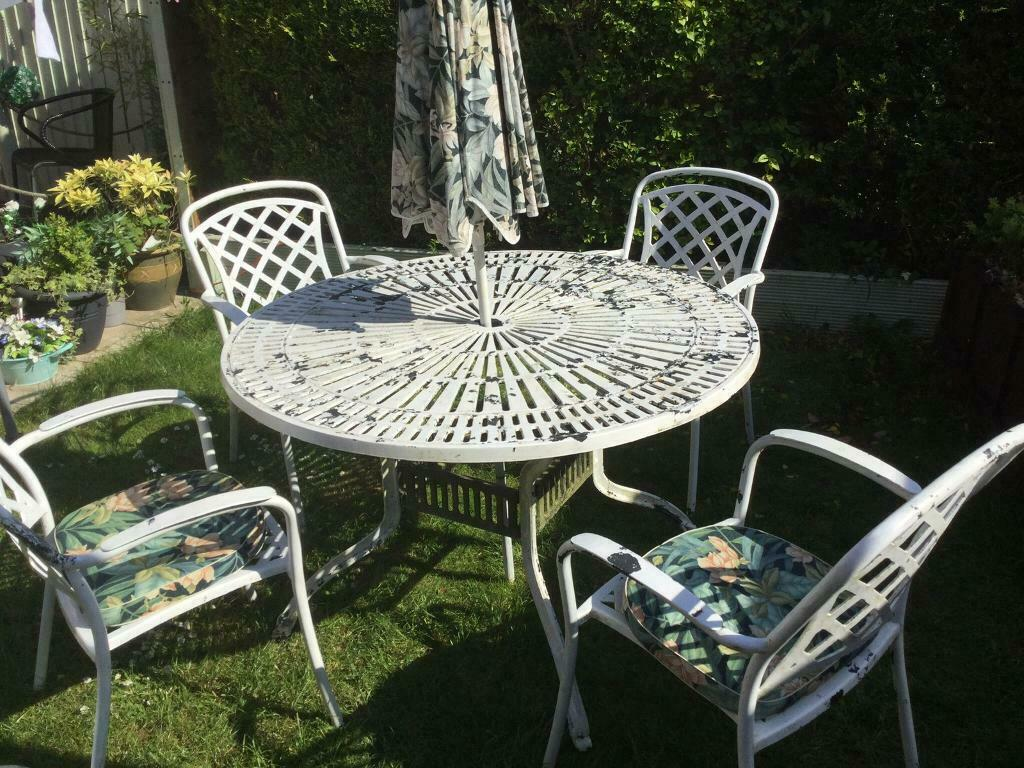 Garden table and chairs  in Kings Lynn, Norfolk  Gumtree