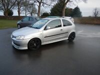 VAUXHALL CORSA 1.4 SRI 16V TWINPORT 2003 LOUD LOW AND FAST