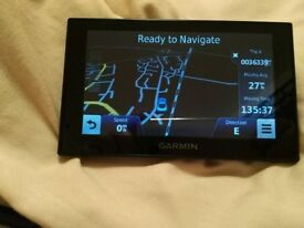 Garmin SatNav Nuvi 2519LM Bluetooth phone smart link UK & full European maps