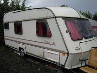 Abi Tristar 4 Berth Caravan With Large Awning