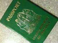 Tanzanian Passport.