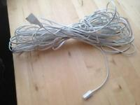 Telephone extension cable