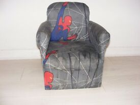 spiderman kids armchair for 1-4 years old