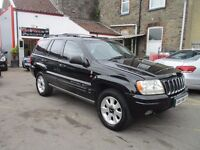 2001 Jeep Grand Cherokee 4.7 V8 60th Anniversary Station Wagon 4x4 5dr JUST BEEN FULLY SERVICED