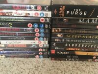 Horror dvd bundle x 23