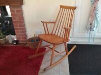 Genuine Ercol Rocking Chair - Good Condition