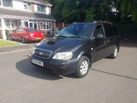 Kia Sedona Automatic gearbox, 7 seater, long mot, good condition, drives excellent