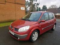RENAULT SCENIC 1 4 DYN NEW CLUTCH NEW CAMBLET LOW MILEAGE F.S.H S.KEYS GOOD RUNNER