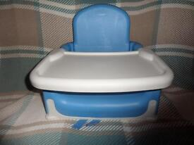 Lindam Booster Seat and Tray - Blue