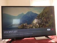 LG tv 4K new with box