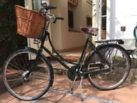Pashley Princess Sovereign 20 Ladies' Bicycle in tip-top condition. Dark green. Hardly used.