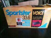 Sportster Voice 33.6 Fax Modem