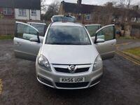 2007 Vauxhall Zafira 1.9 CDTi Club 5dr Auto @07445775115