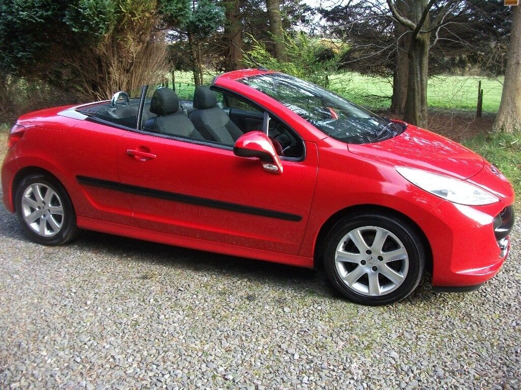 Mot Centre Newry >> Lovely 2007 Peugeot 207cc, HDi, Sport, Convertible Cheap ...