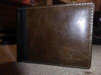 Daosman Mens Italian Leather Wallet