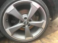 GENUINE AUDI A3 A4 S3 RS3 ROTOR ALLOYS 19""