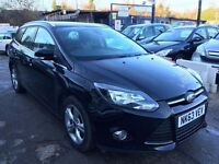 Ford Focus 1.6 TDCi ECOnetic Zetec 5dr£6,995 p/x welcome 1 YEAR FREE WARRANTY. NEW MOT