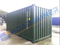 20ft new build shipping container new build in London (can also hire out).
